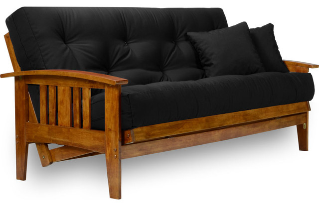 wooden futon frame and mattress set Roselawnlutheran