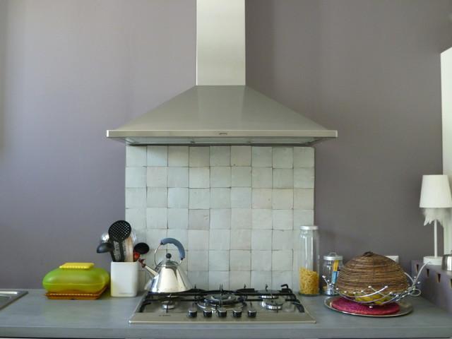 r alisation cr dence cuisine zelliges by ateliers zelij contemporain cuisine toulouse. Black Bedroom Furniture Sets. Home Design Ideas