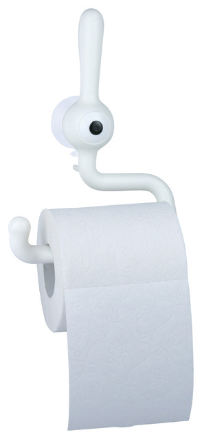 Toq Toilet Paper Holder White