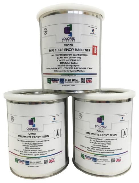 Epoxy paint 2 1 part for garage floor basement concrete for 1 part epoxy floor paint