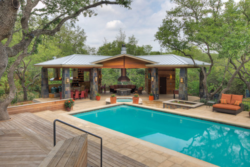 Outdoor Living & More! contemporary pool
