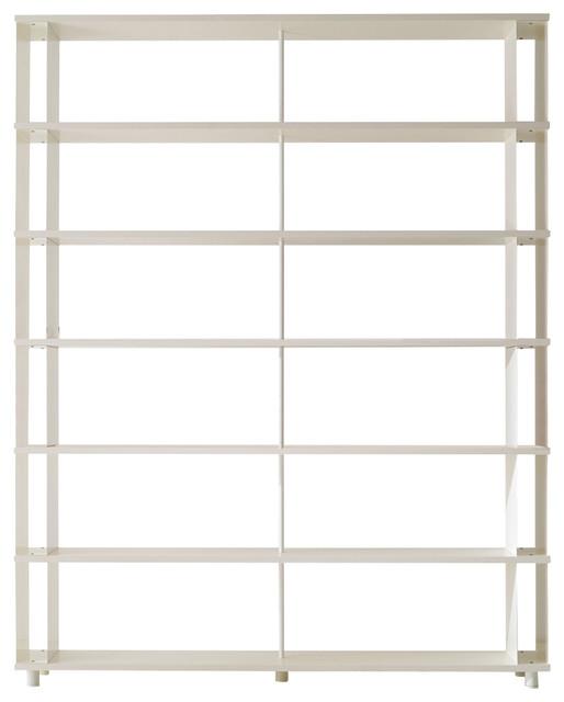 Piarotto Skaffa Bookcase, White