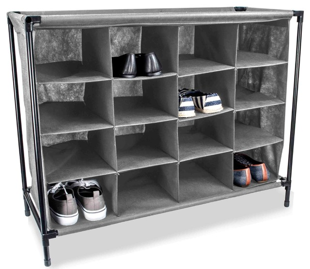 Sunbeam 16 Pair Shoe Rack.