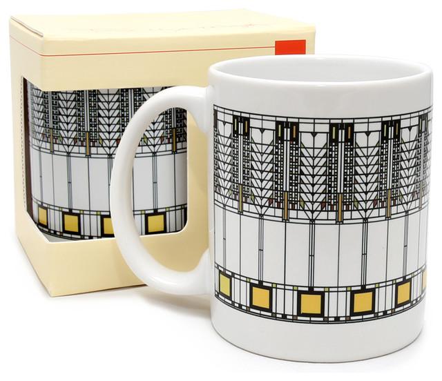 Frank Lloyd Wright Tree Of Life Coffee Mug.