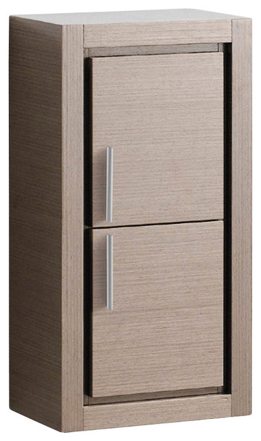 fresca bathroom linen side cabinet 2 doors contemporary bathroom
