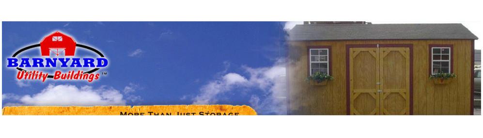 Barnyard Utility Buildings   Clover, SC, US 29710