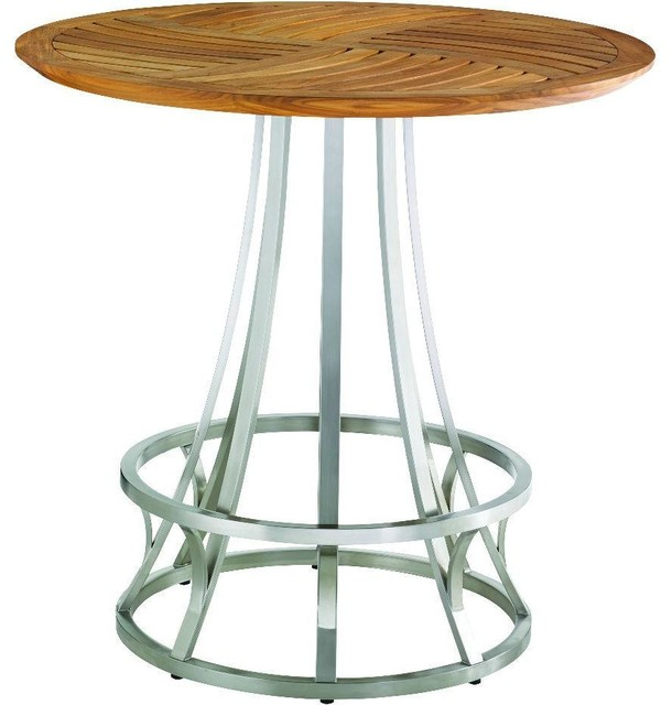 Tommy Bahama Tres Chic Bar Table Contemporary Outdoor Pub And Bistro Tabl