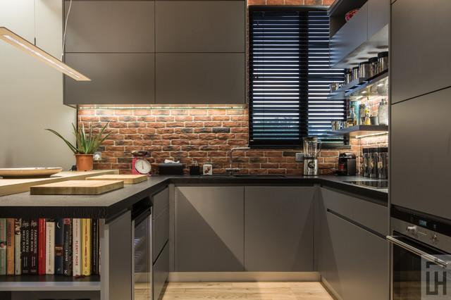 Home design - industrial home design idea in Hong Kong