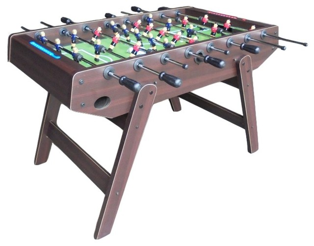Good Imperial Foosball Table, Shutout Slanted Leg Transitional Game Tables
