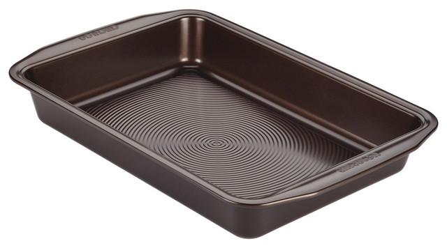 "Circulon Nonstick Bakeware 9""x13"" Rectangular Cake Pan,chocolate Brown."