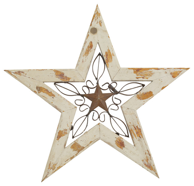 White Star Wall Decor : Wood and iron texas star mint rustic wall accents