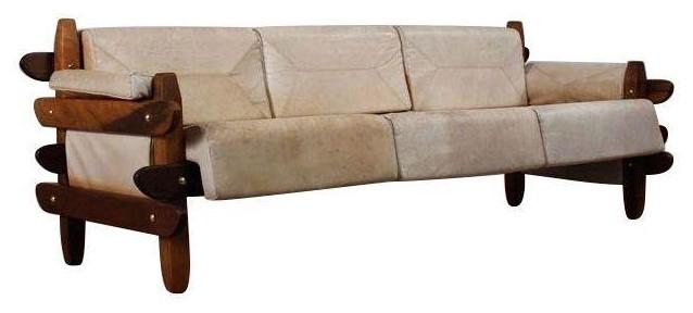 Mid century brazilian rosewood sofa modern furniture by chairish - Brazilian mid century modern furniture ...