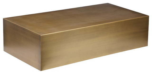 Spencer Coffee Table, Brass.