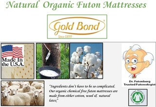 Best Rated Natural & Chemical Free Organic Futon Mattresses 2018