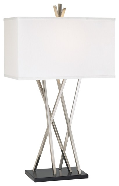 Possini euro design asymmetry table lamp contemporary for Possini lighting website
