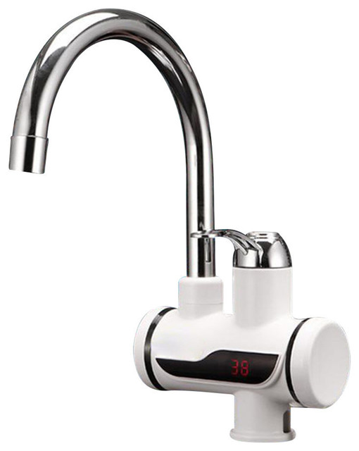 Lenox Digital 3 Second Instant Tankless Electric Hot Water Heater Faucet.