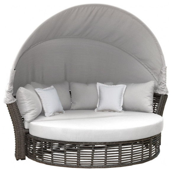 Terrific Panama Jack Graphite Canopy Daybed Alphanode Cool Chair Designs And Ideas Alphanodeonline