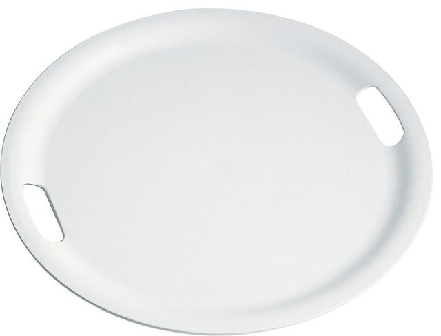 Fantastic Round Plastic Serving Trays - Round Designs YH13