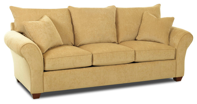 Flagstaff Queen Sleeper Sofa, Collette Tan.