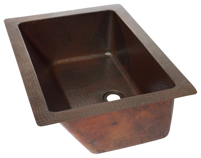 undermount copper bathroom sinks rectangular undermount bathroom copper sink rustic 21134