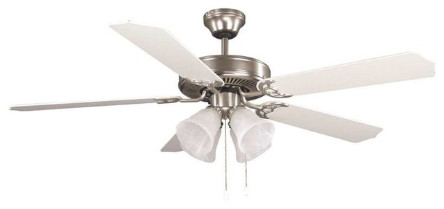 Canarm Cf52 Ceiling Fan In Brushed Pewter.