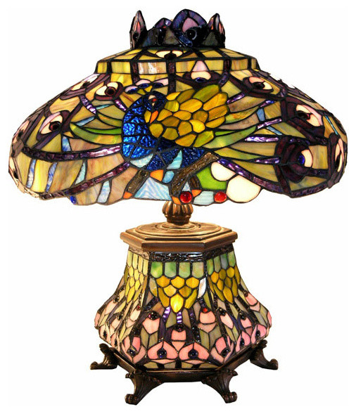 Tiffany Lamps Victorian Clip Art