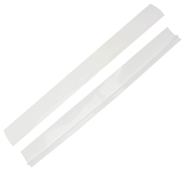 Appliance Gap Filler, Seal Between Counter and Stove Top, White