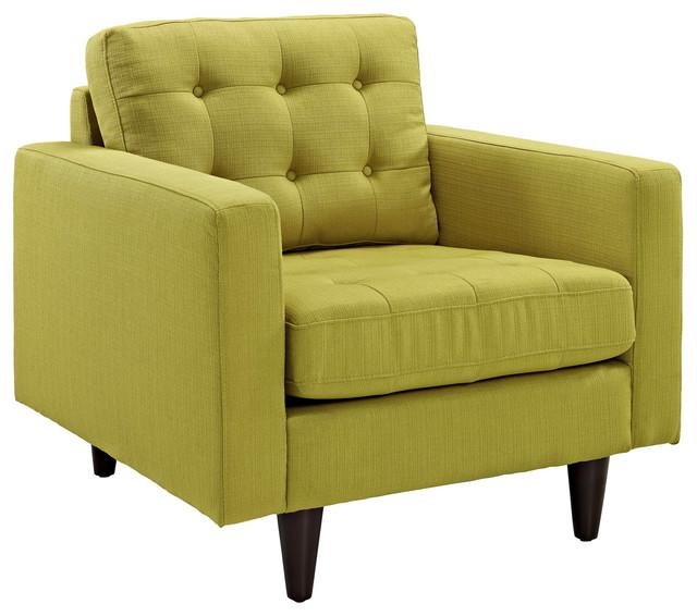Empress Upholstered Armchair, Wheatgrass.