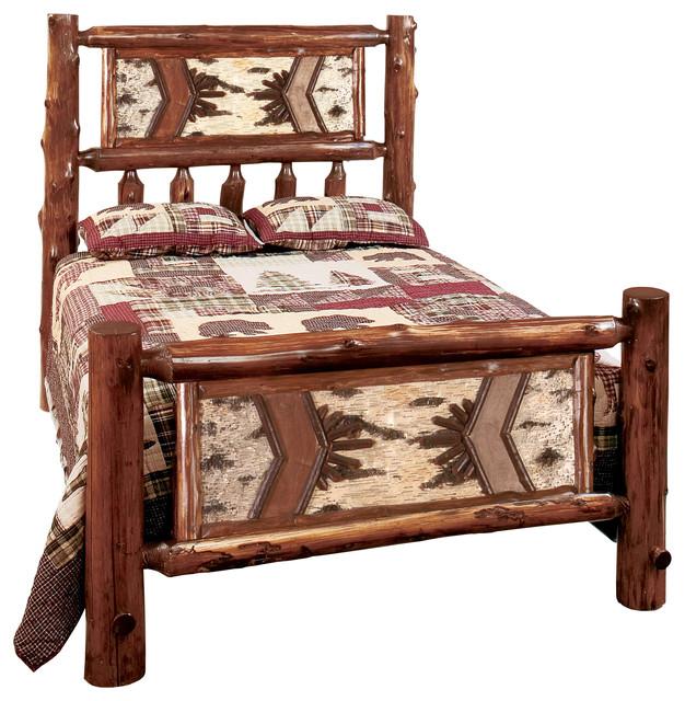 Shop Houzz Fireside Lodge Furniture Company Cedar
