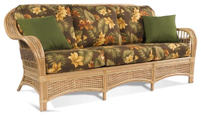 Gartenmobel Kettler Tiffany : Rattan Sofa Tropical Breeze  Kolonialstil  Sofas  New York  von