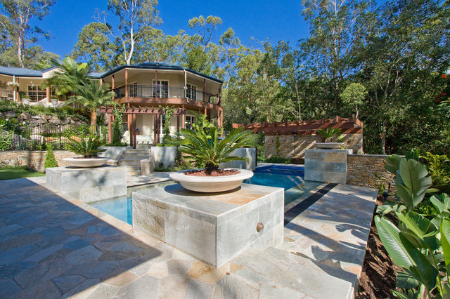 Fig tree pocket project for Pool design eltham