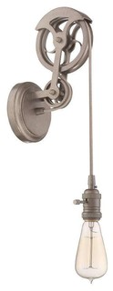 Wall Sconce No Shade : Jeremiah CPMKPW-1ABZ Pully Wall Sconce No Shade - Transitional - Wall Sconces - by Mylightingsource