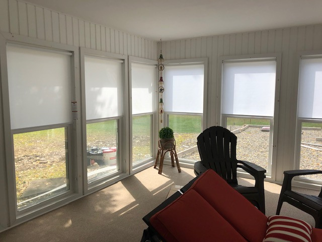 Sunroom Roller Shades