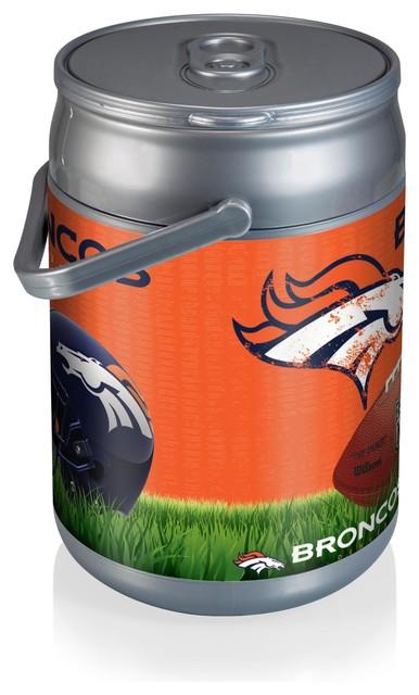 Denver Broncos Can Cooler Football Design Contemporary