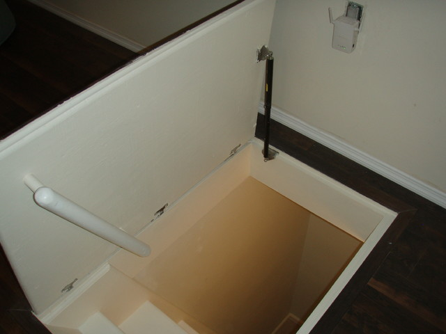 Lift Assist In Home : Hydraulic assist trap door