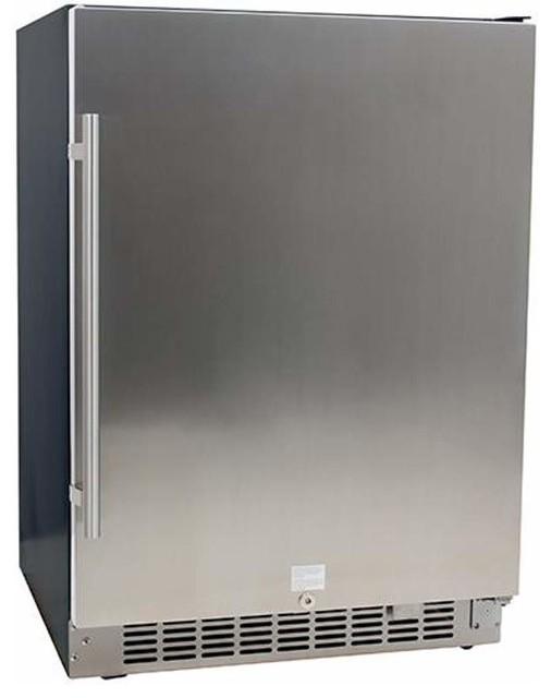 Edgestar Cbr1501sld 142 Can Built-In Beverage Cooler.