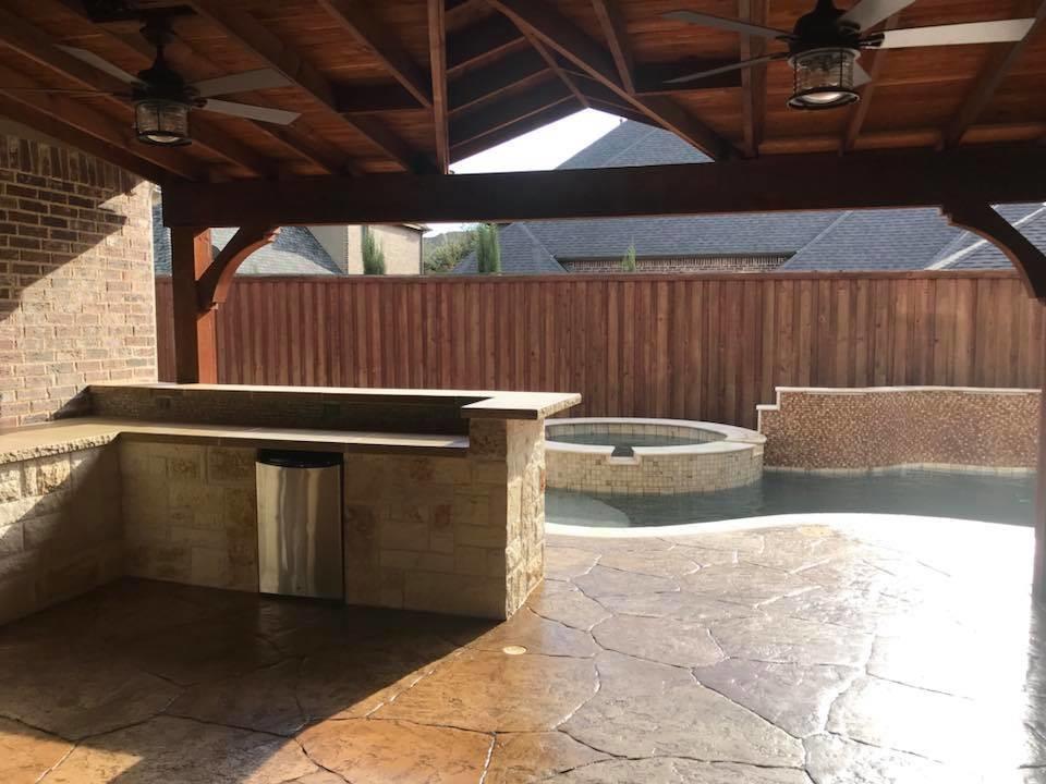 Decorative Concrete Pool Deck Renovations