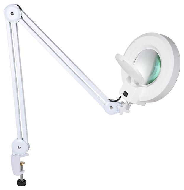 Adjustable 5x Diopter Magnifying Lamp Magnifier Facial Spa Salon Home Cra&x27;.