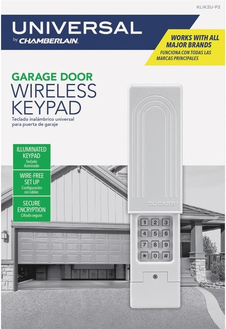 LOT OF 5  Chamberlain KLIK2U-P2 Clicker Universal Wireless Keyless Entry System