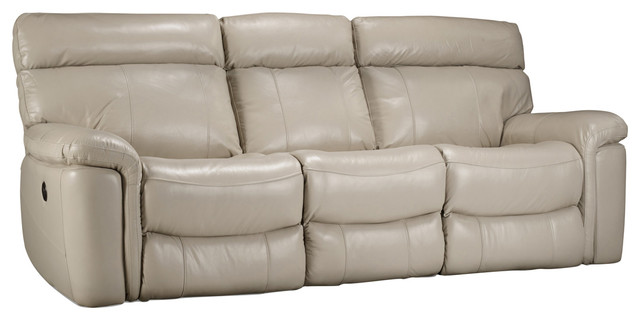 Taupe Power Motion Sofa Contemporary Sofas By Hooker