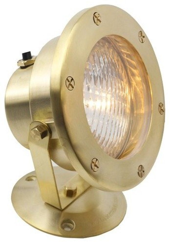 Large Cast Br Underwater Flood Light