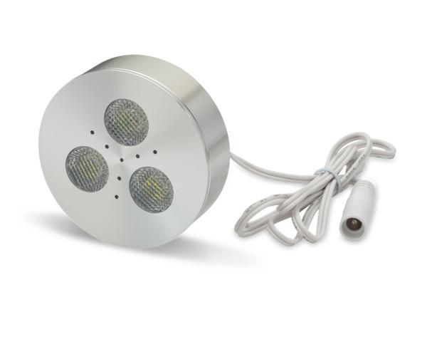 3W Under Cabinet LED Light, Warm White, UL