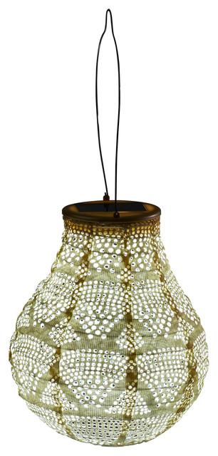 Soji Stella Wave Bulb Lantern, Pearl.