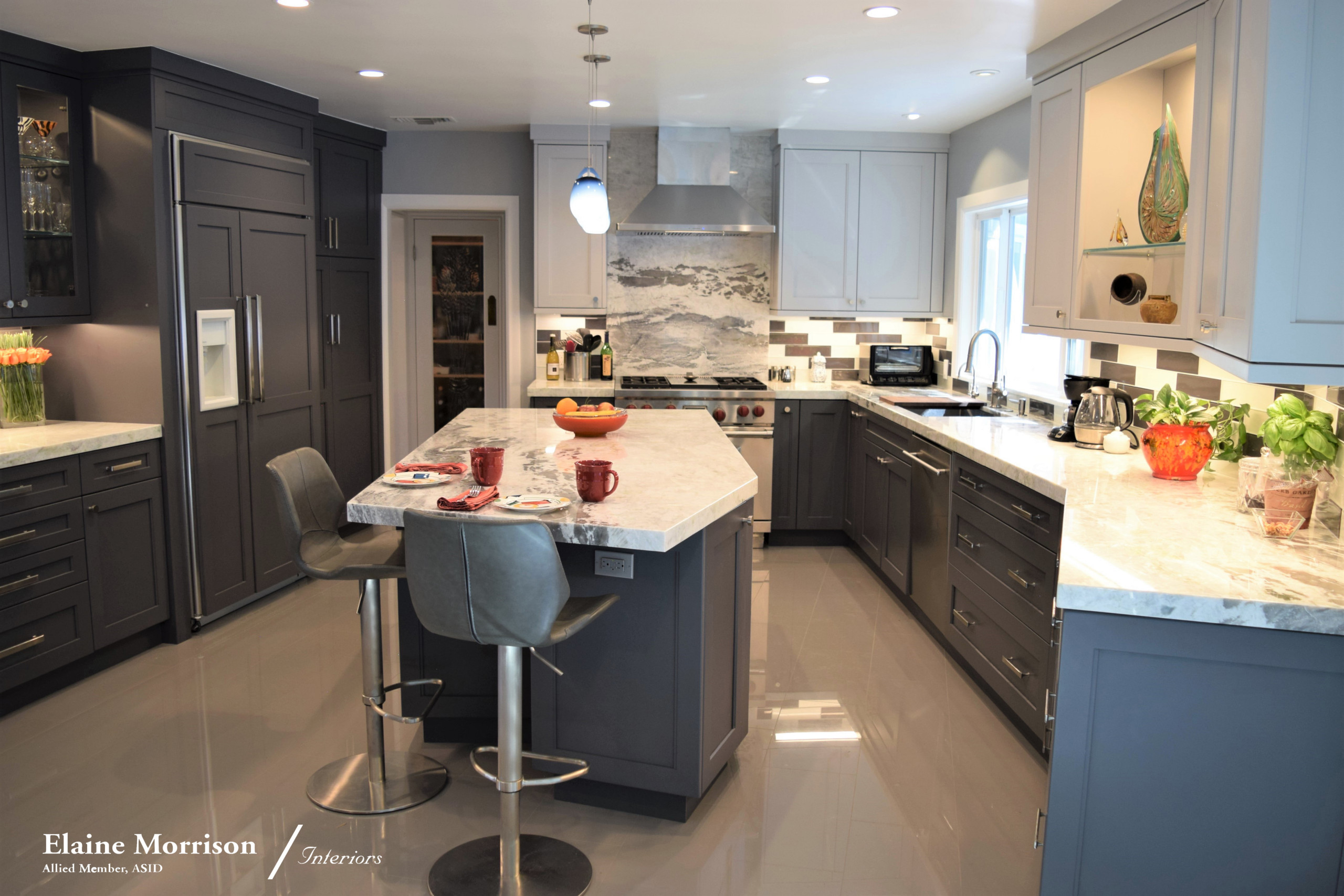 My Transitional Kitchen Remodel for a Client in Sherman Oaks, Ca.