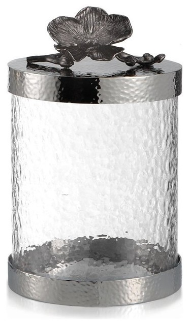 Michael Aram Black Orchid Canister Small.
