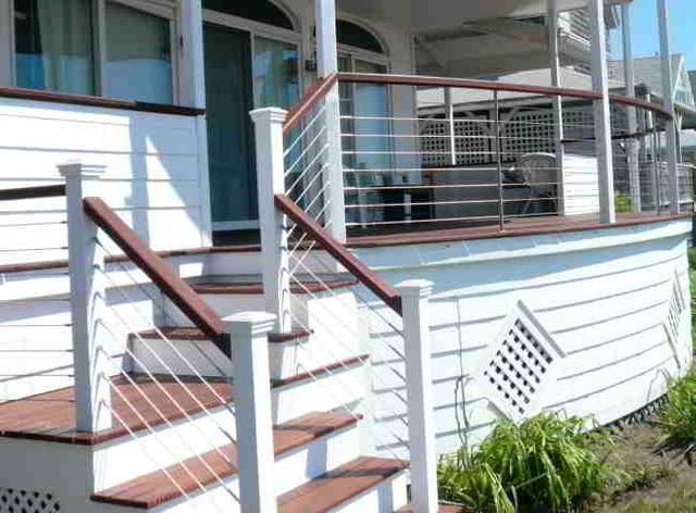 Deck, patio, porch, balcony cable railing - Modern - Other - by ...
