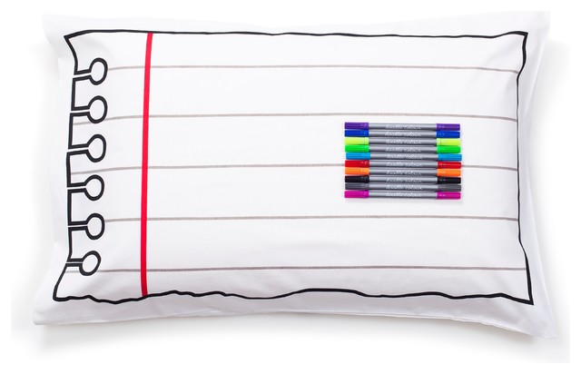 Doodle Pillowcase - Draw on it, Wash it, Do it Again