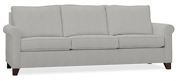 Cameron Roll Arm Upholstered Grand Sofa, Polyester Wrap Cushions, Performance Ca