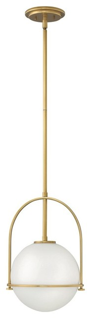 Hinkley Lighting Somerset Heritage Brass Pendant Light W/ 1 Light 100w - 3407hb_.