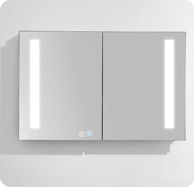Designer Aquadom&x27;s Led Medicine Cabinet Signature Royale 48x30x5 (touchscreen).